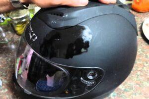 ¿Como pulir un casco de moto y su pantalla protectora para quitar todos los arañazos?
