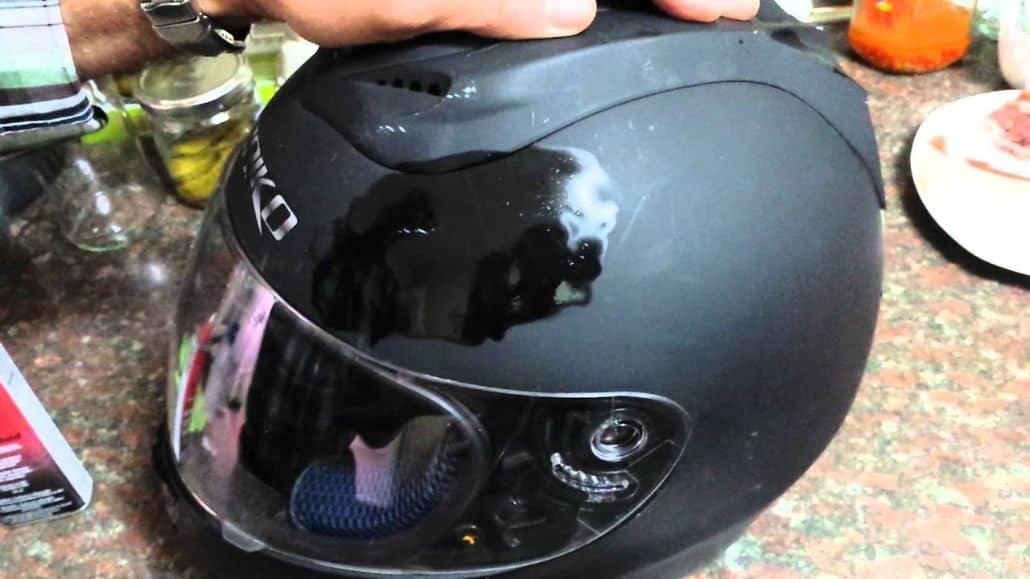 pulir casco