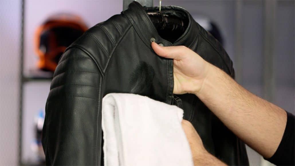 limpiar chaqueta