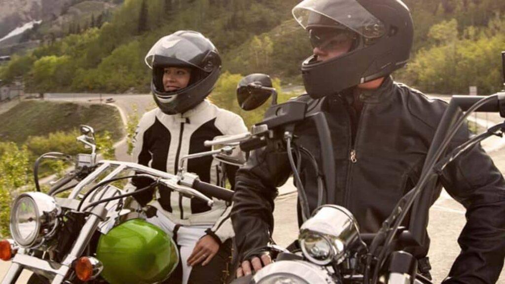 par motociclista