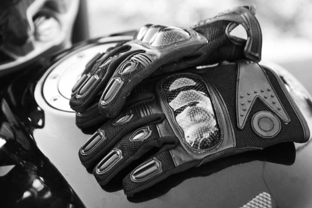 guantes motoristas protectores nudillos