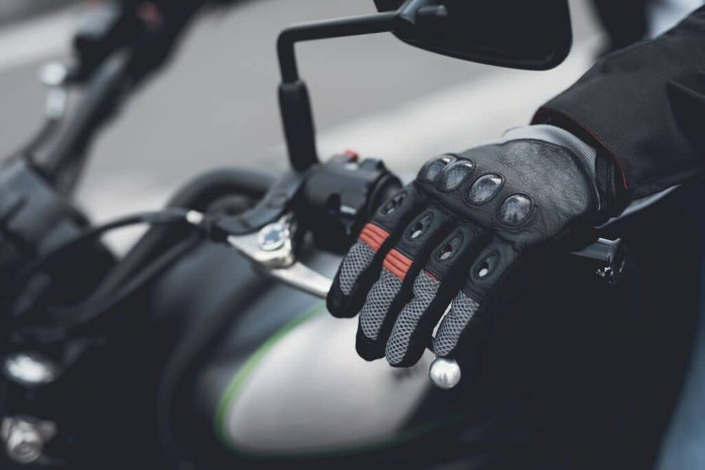 guantes motoristas negros