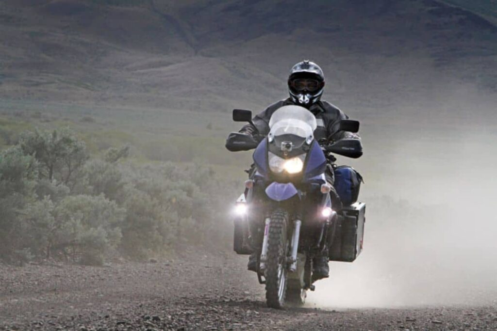 luces frontales moto