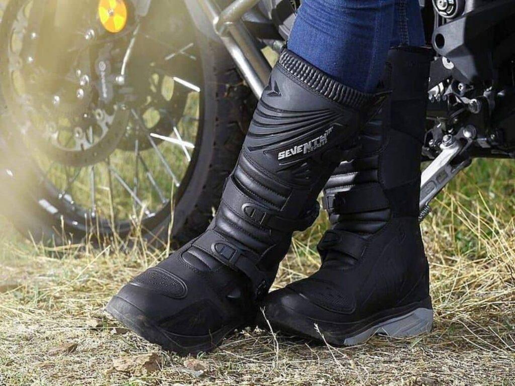 botas negra mujer