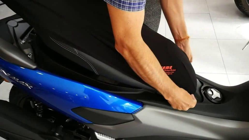 funda asiento moto