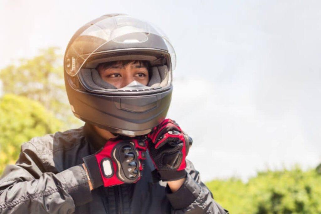 mejorar casco motociclista