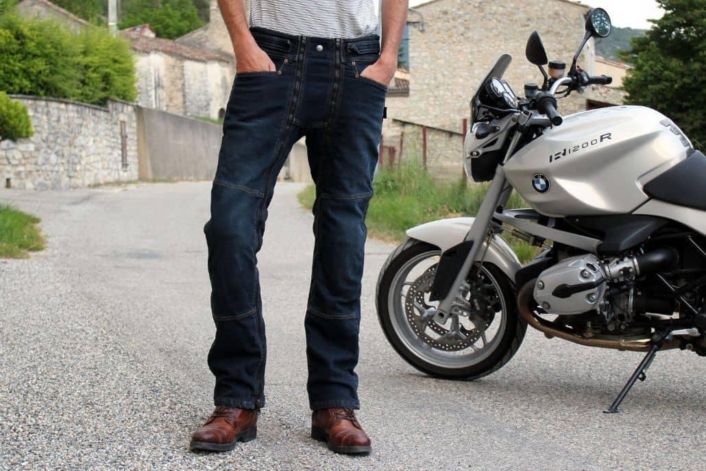 reparar pantalones cuero