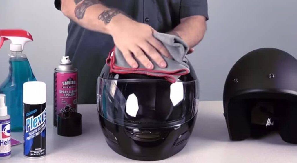 sprays pulir casco