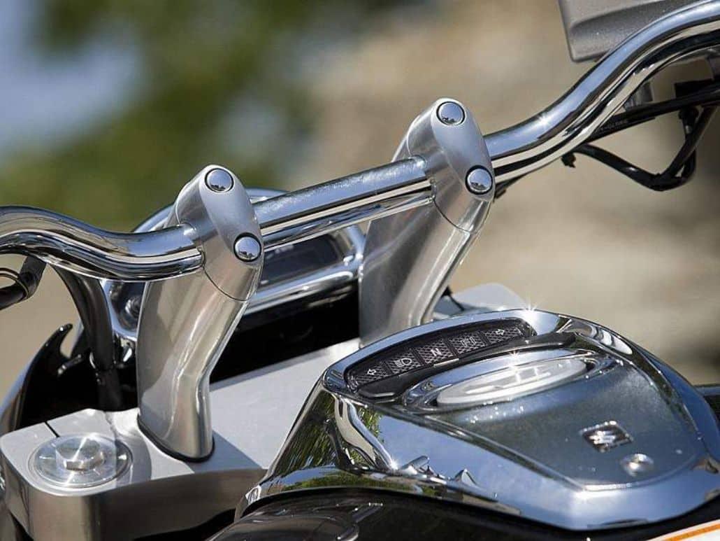 parte delantera moto