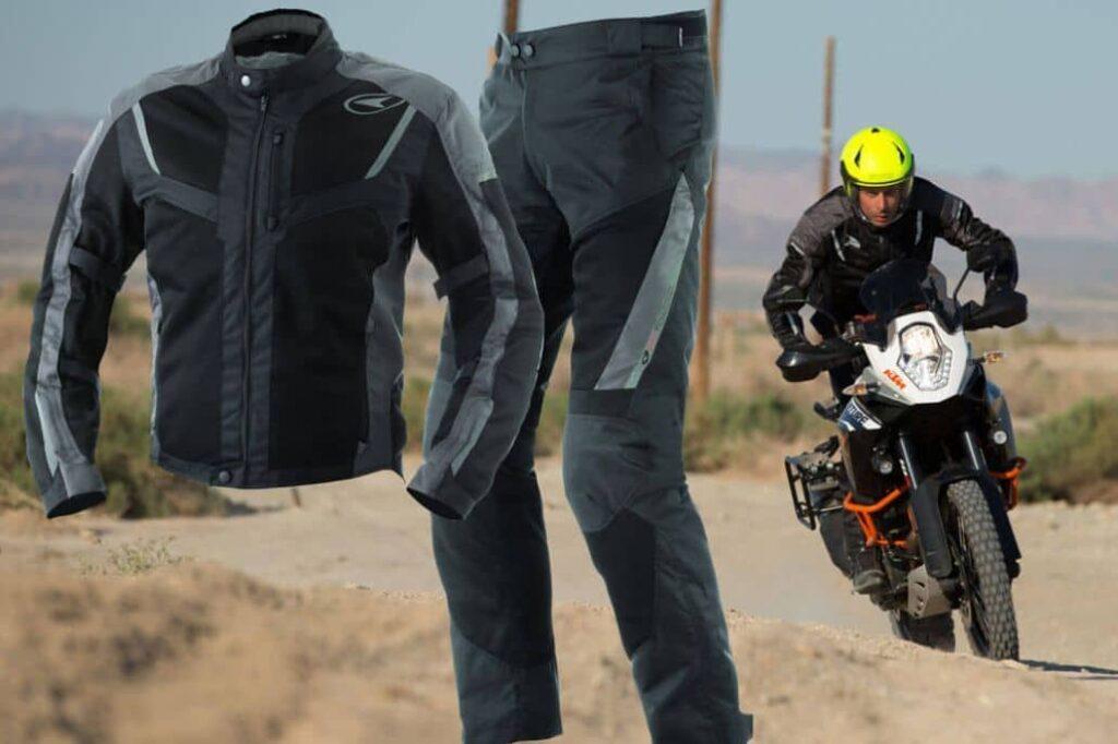 conjunto motociclista