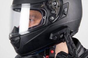 Auriculares Bluetooth para llevar con el casco de moto