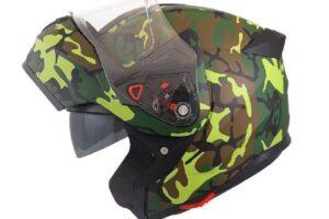 Cascos de camuflaje o estilo militar para tu moto – Las mejores opciones