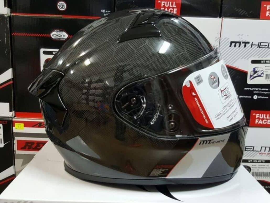 casco fibra carbono