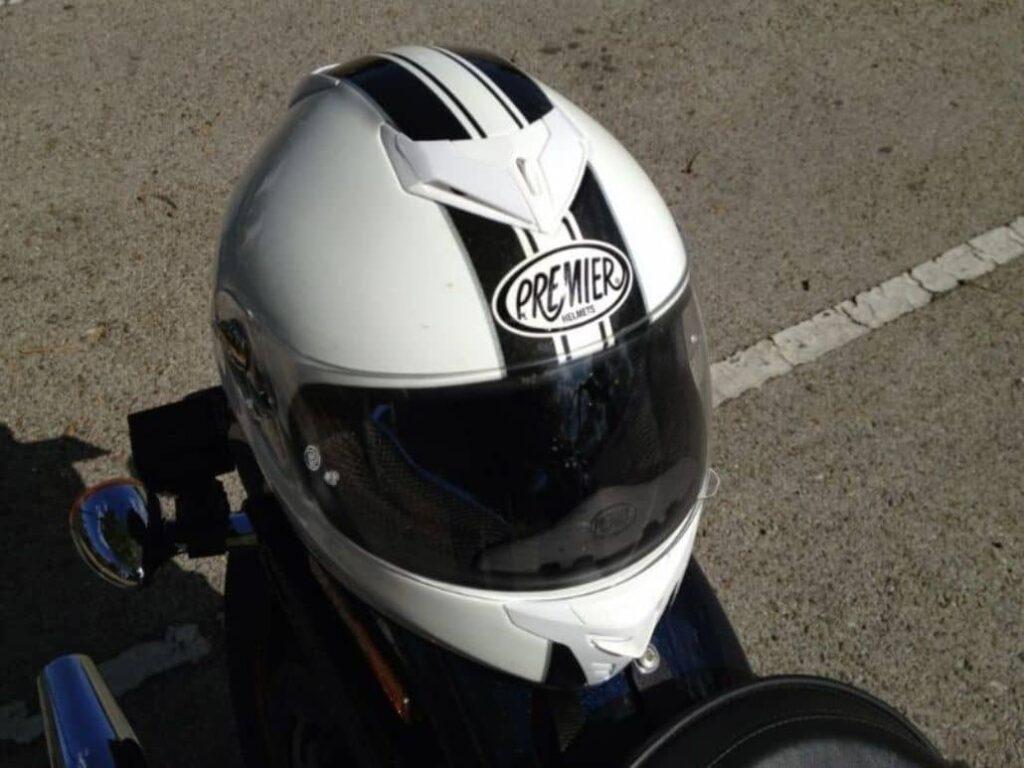 casco blanco premier