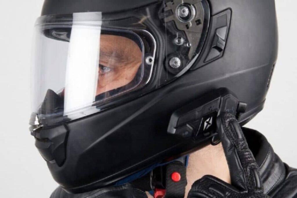casco especial para scooter