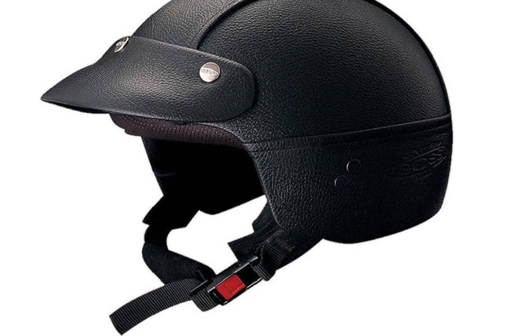 casco clasico negro