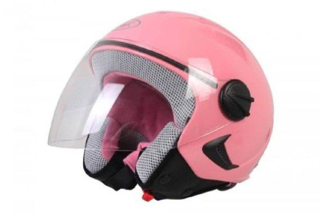 casco rosa unisex