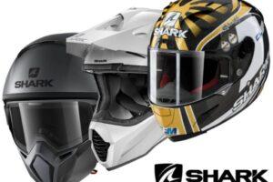 Cascos Shark para la moto integrales y modulares