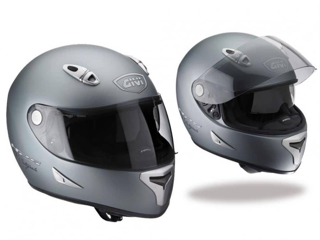 cascos integrales grises