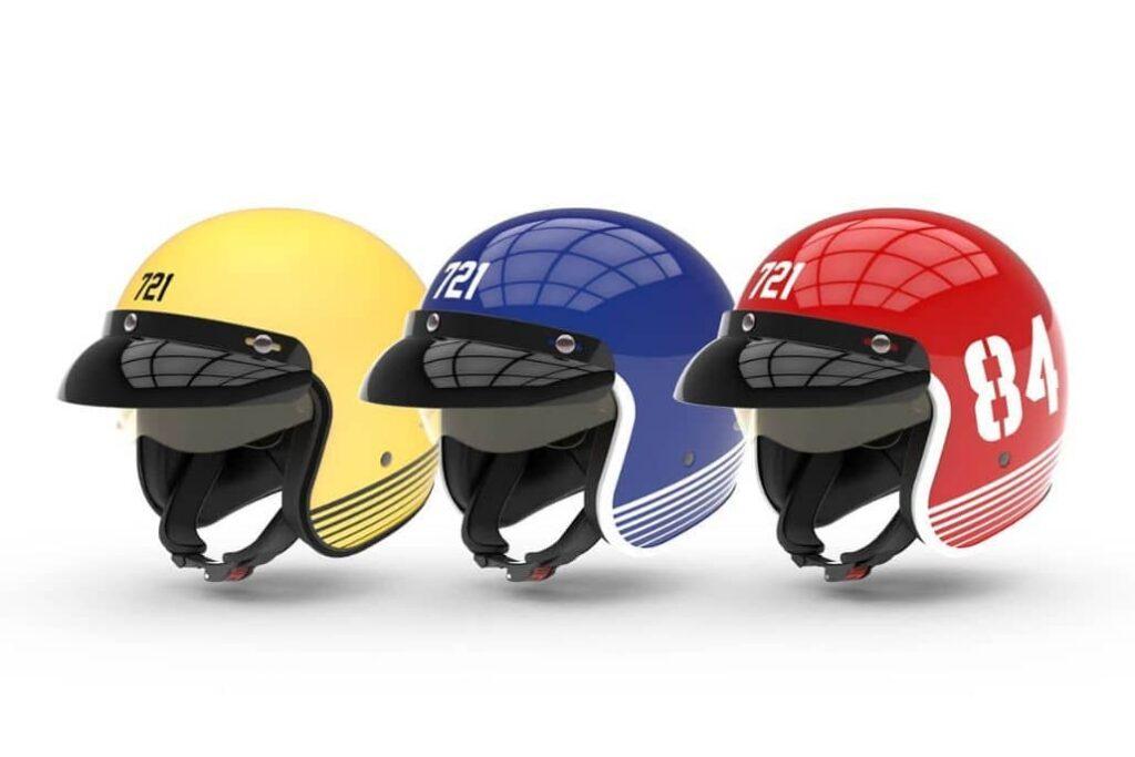 cascos motociclista varios colores