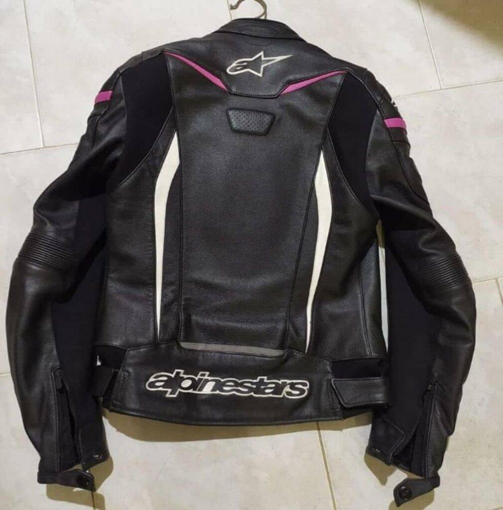 alpinestar chaqueta negra