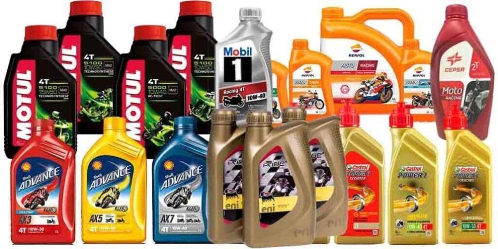 tipos aceite moto