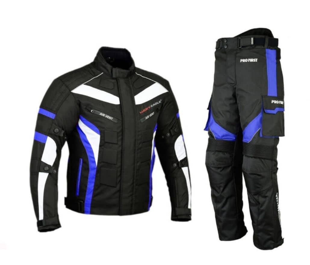 equipo proteccion azul