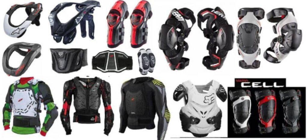 equipo proteccion motociclistas