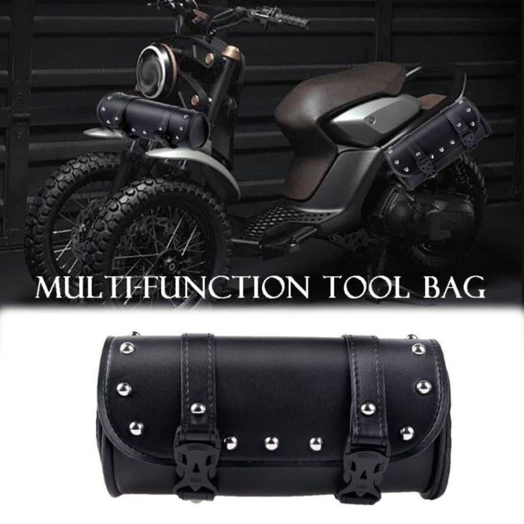 moto negra estuche especial
