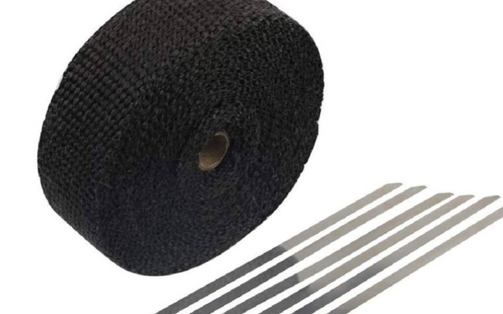 cinta aislante negra