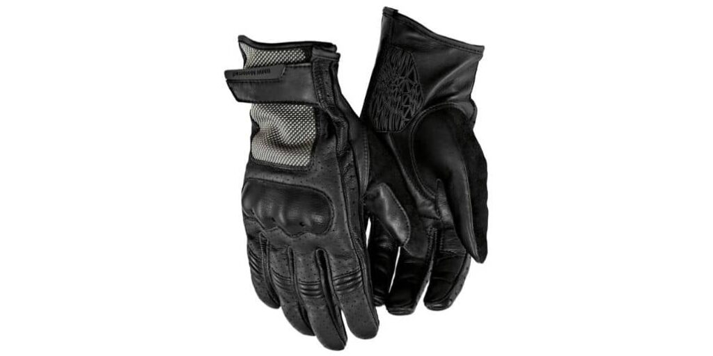 par guantes negros