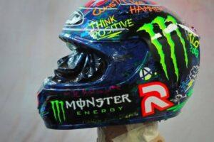 Mejores de cascos réplica de los famosos de Moto GP ¡Presume de casco!