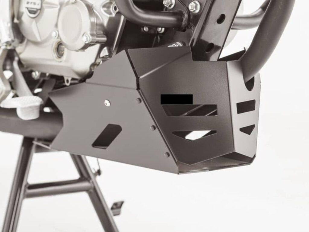 caja protectora motor moto