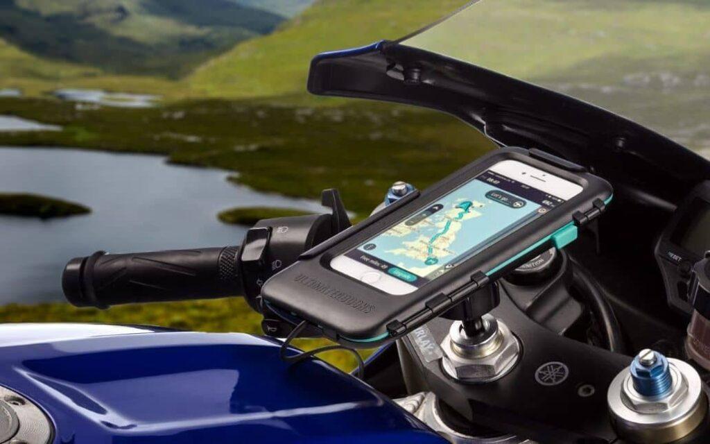 soporte telefono moto