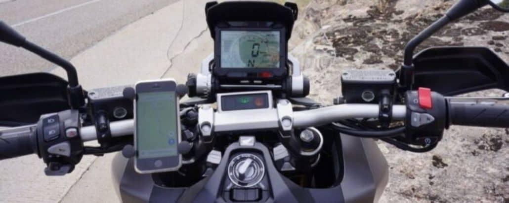 soporte gps moto