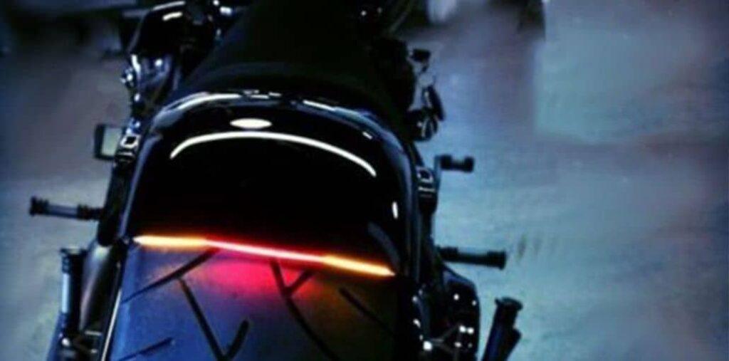 luz trasera moto